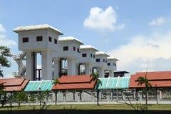 Re Bhumibol Watergate al chanel di Ladpho Immagine Stock Libera da Diritti