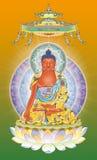 Re Buddha Fotografie Stock Libere da Diritti