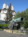 Re-cannone (Tsar-pushka) Immagine Stock