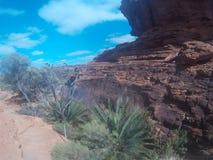 Re Canyon Fotografia Stock