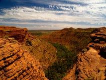 Re Canyon Gorge Immagini Stock Libere da Diritti