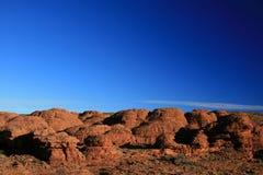 Re Canyon, sosta nazionale di Watarrka, Australia fotografia stock libera da diritti