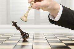 Re Checkmate Immagini Stock Libere da Diritti