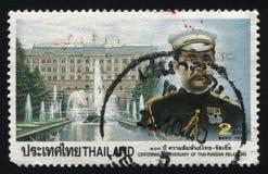 Re Chulalongkorn del palazzo di Peterhof Fotografie Stock Libere da Diritti