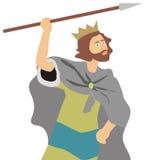Re david royalty illustrazione gratis