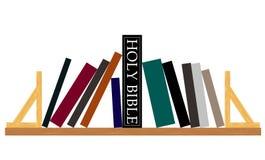 Re dei libri - la bibbia santa Fotografia Stock