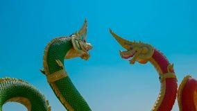 Re dei Nagas o dei Nagas di grande Fotografia Stock Libera da Diritti
