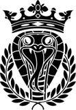 Re dei serpenti royalty illustrazione gratis