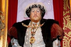 Re del Henry VIII dell'Inghilterra Fotografie Stock Libere da Diritti