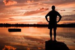 Re del lago Immagine Stock Libera da Diritti