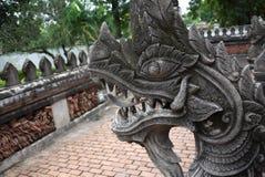Re del Naga da Wat Phra Keaw fotografia stock