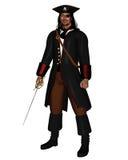 Re del pirata Fotografie Stock