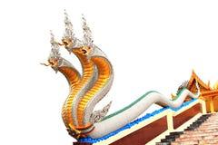 Re della statua del naga Immagini Stock Libere da Diritti