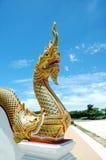 Re della statua di Nagas Fotografia Stock