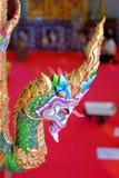 Re della statua di Nagas Fotografia Stock Libera da Diritti