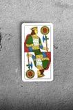 Re delle monete Immagine Stock