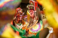 Re di carta, artigianato di carta, Vietnam Fotografia Stock