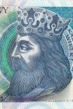 Re di Kazimierz III Wielki della Polonia Fotografia Stock Libera da Diritti
