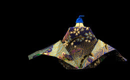 Re di origami immagini stock libere da diritti