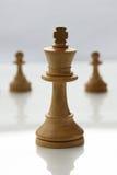 Re di scacchi Fotografie Stock Libere da Diritti