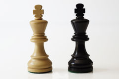 Re di scacchi Immagini Stock