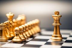 Re e Team Chess fotografia stock