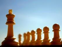 Re ed il suo esercito Fotografia Stock Libera da Diritti