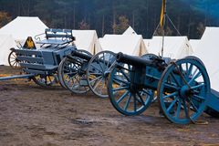 Re-enactment Austerlitz, the Netherlands 2008 Stock Images