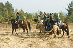 Re-enactment Austerlitz, o 2008 holandês imagem de stock royalty free