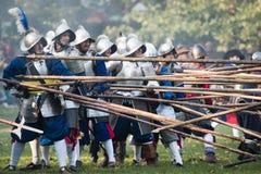 Re-enactment of battle for Pressburg at Bratislava, Slovakia on September 30, 2017 Stock Photography