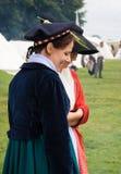 Re-enactment Battle of Waterloo, Belgium 2009 Royalty Free Stock Image