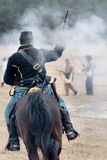 Re-enactment da invasão de Brooksville Fotos de Stock