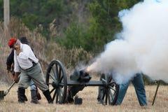Re-enactment da invasão de Brooksville Imagem de Stock Royalty Free