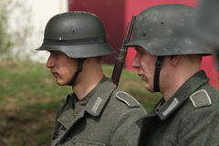 Free Re-enactment Of The WWII Battle At Orechov Stock Photos - 50090273
