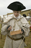 Re-enactment of Revolutionary War. Encampment demonstrates camp life of Continental Army as part of the 225th Anniversary of the Siege of Yorktown, Virginia Stock Photography