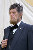 Re-enactor de Abraham Lincoln fotos de stock royalty free