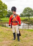 Lieutenant Colonel, Worcester Yeomanry Cavalry, England. Royalty Free Stock Photos