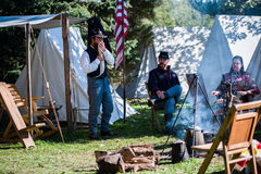 Re-enactors Royalty Free Stock Photography