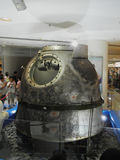 The Re-entry Module of Shenzhou-7 Spacecraft Stock Photography