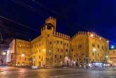 Re Enzo Palazzo в болонья, Италии Стоковое фото RF