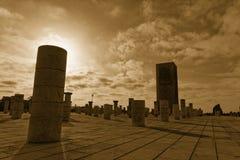 Re Hassan Tower Marocco Immagine Stock Libera da Diritti