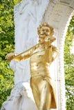 Re Johann Strauss del valzer Fotografia Stock