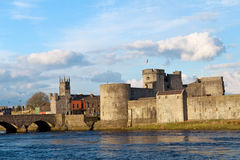 Re John Castle in Limerick Fotografie Stock