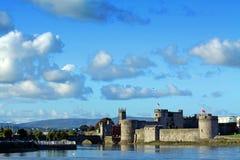 Re Johns Castle Limerick Irlanda Fotografia Stock Libera da Diritti