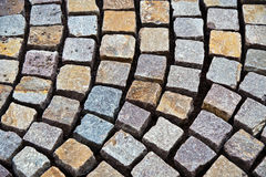 Re-layed cobble stones Royalty Free Stock Image