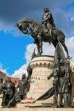 Re Matthias Corvin Statue Immagini Stock Libere da Diritti