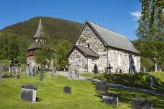 Åre medieval church Sweden Stock Images