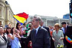 Re Mihai I della Romania (11) Fotografie Stock