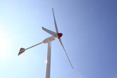 Re-Neawble Energie - de Turbine van de Wind Royalty-vrije Stock Afbeelding