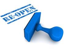 Re-open Stock Photos